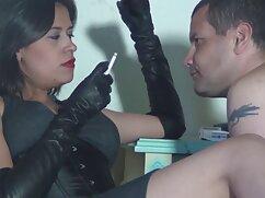 女の子,茶色,黒手袋乳房マッサージベッドで わたし が 見 たい アダルト ビデオ